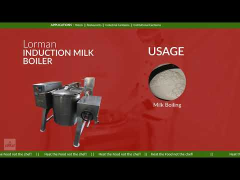 Induction Milk Boiler