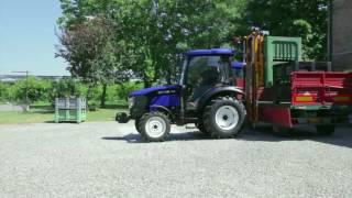 Трактор Lovol TB-504C использование опрыскивателя