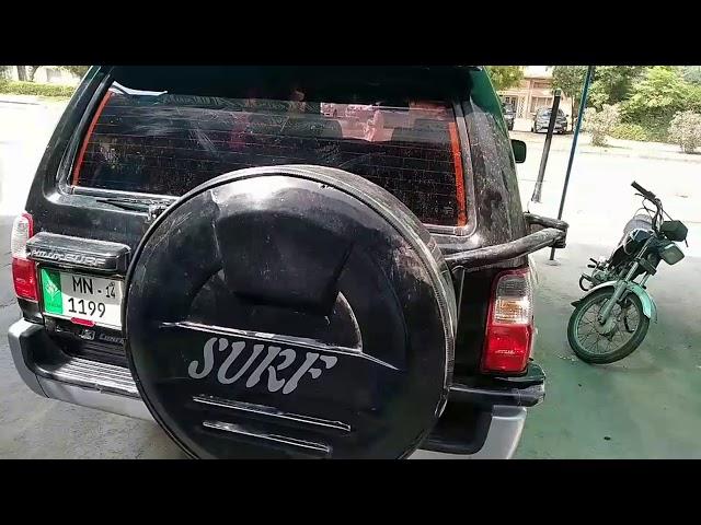 Toyota Surf SSR-G 2.7 1997 for Sale in Bahawalpur
