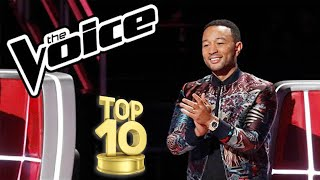 THE VOICE USA!  TOP 10 MALE BLIND AUDITIONS OF ALL TIME!!!!
