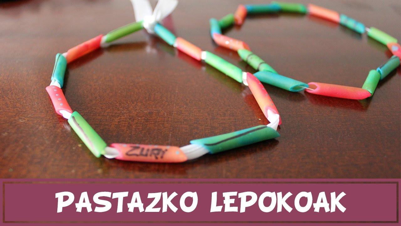 Pastazko lepokoak - Eskulan errazak euskaraz