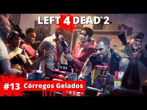 Left 4 Dead 2 - #13 Crregos Gelados (ft.  @VandoWalkthroughs ) | Gameplay PC em PT-BR