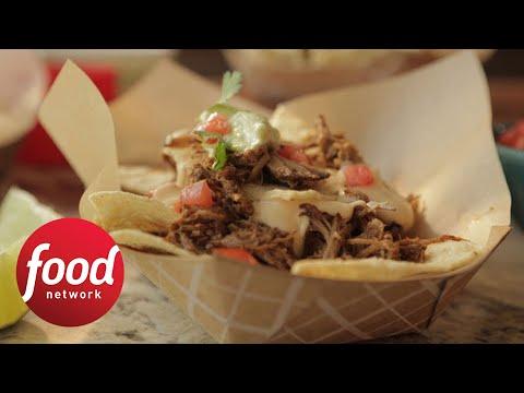 How to Make Damaris' Pulled Pork Nachos | Food Network