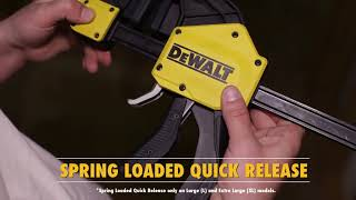 Holds Tight, Holds Strong. - DEWALT Trigger Clamps