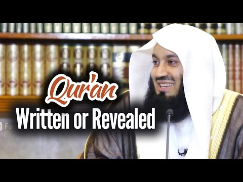 Qur'an: Written or Revealed