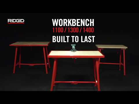 RIDGID Work Tables