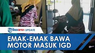 Fakta Video Viral Emak-emak di Situbondo Masukkan Motor ke Ruang IGD RS, Bantu Tetangga Disabilitas