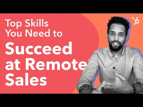 Top Skills You Need to Succeed at Remote Sales - YouTube