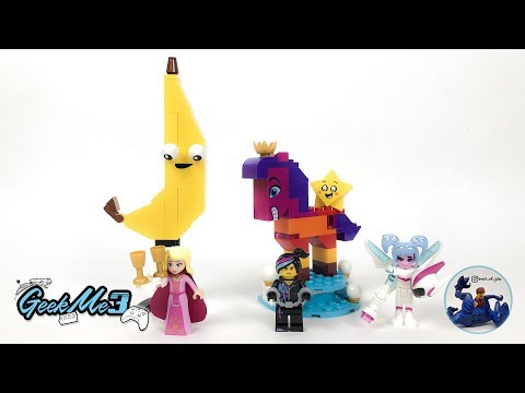 Vidéo LEGO The LEGO Movie 70824 : La Reine Watevra Wa'Nabi