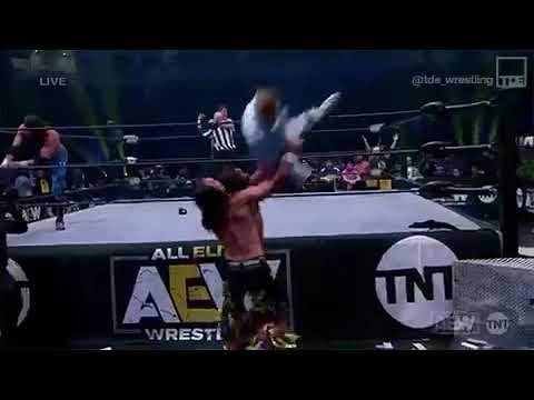 Orange Cassidy Actually does a Wrestling move AEW Dynamite Episode 4