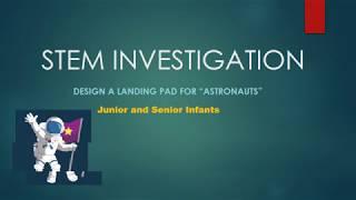STEM Activity: Designing a Landing Pad