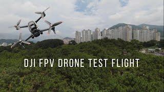 ● DJI FPV DRONE TEST FLIGHT #DJIFPV
