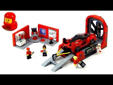 Vidéo LEGO Speed Champions 75882 : Le centre de développement de la Ferrari FXX K