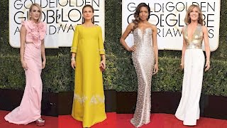Fashion Hits And Misses On The Golden Globes Red Carpet
