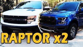WHICH FORD RAPTOR IS BEST? Gen 1 vs Gen 2 Comparison | Obsessed Garage on Truck Central