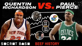 Quentin Richardson vs. Paul Pierce was a confusing, embarrassingly one-sided NBA feud | Beef History thumbnail