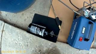 How I Fill my HPA Tank. Paintball Tank Refill Compressed Air
