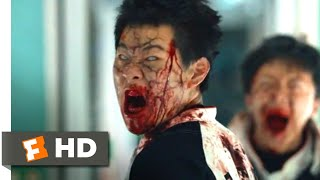 Train to Busan (2016) - Zombie Melee Scene (4/9) | Movieclips