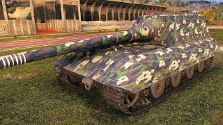 Jagdpanzer E100 - Heavy Tank Destroyer - World of Tanks Gameplay