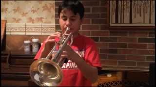 Danny Boy (Londonderry Air) Trumpet Cover