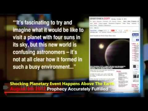 Prophecy Of Planetary Event Accurately Fulfilled