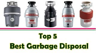 Top 5 Best Garbage Disposal | Best Garbage Disposal For The Money