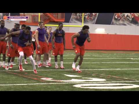 Clemson Football || Spring 2015 Strength & Conditioning