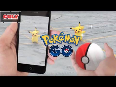 Trò chơi thử bắt Pokemon Go tại nhà không cần đi chuyển   Cu lỳ chơi game #6   Pokemon Go gameplay