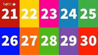 Vui học cùng Bé Bí Bo - Bé học đếm số từ 21 đến 30 thật vui, hấp dẫn và bổ ích