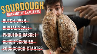 Can I Make Sourdough Bread with No Baking Equipment?