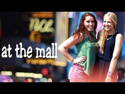 At the Mall with Morgan
