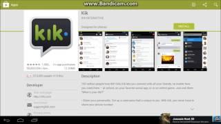 How to install Kik Messenger on PC Windows 8/7/XP