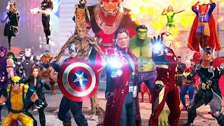 MARVEL HEROES OMEGA Trailer (2017) PS4