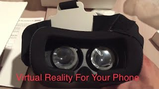 $20 VR Box 2.0 Unboxing/Review - Virtual Reality - Google Cardboard (And Oculus Comparison)