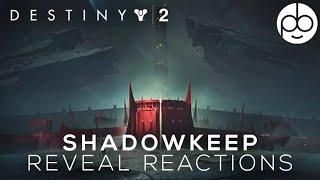 Destiny 2 Shadowkeep REACTIONS