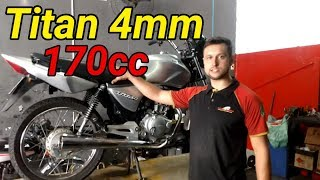 Titan 170cc - Pistão 4mm Link Na Descrição Para Compra