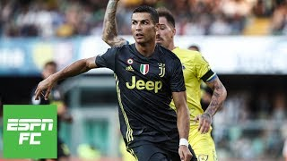 Cristiano Ronaldo Juventus debut vs. Chievo [Full Highlights] | ESPN FC - Video Youtube