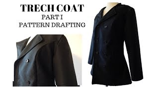 How To Draft Pattern | Trench Coat (Part I)