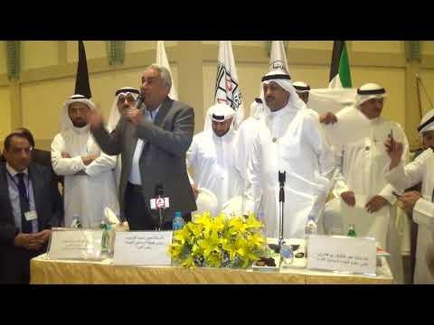 سامح عاشور رئيس اتحاد المحامين العرب يهنىء الكريوين بمنصبه الجديد