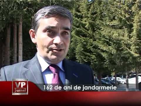 162 de ani de jandarmerie