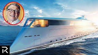 Inside Bill Gates Hydrogen Powered Mega Yacht
