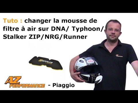Changer ou nettoyer la boîte à air d'origine de son Typhoon / Stalker / Zip / ...