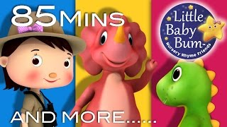 Dinosaur Song | Plus Lots More Nursery Rhymes | 85 Minutes Compilation from LittleBabyBum!