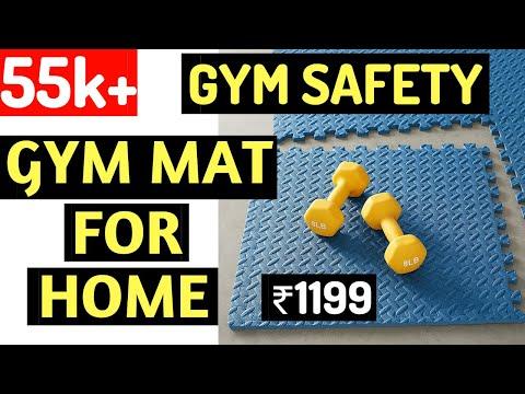 Unboxing - Amazon Basics Gym Mats   Fitness Hour   Vinay Kumar