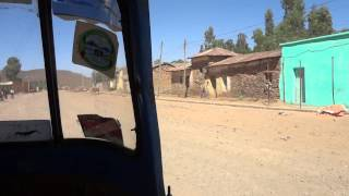 Tuc-tuc Ride To Queen Of Sheba's Palace, Axum Ethiopia