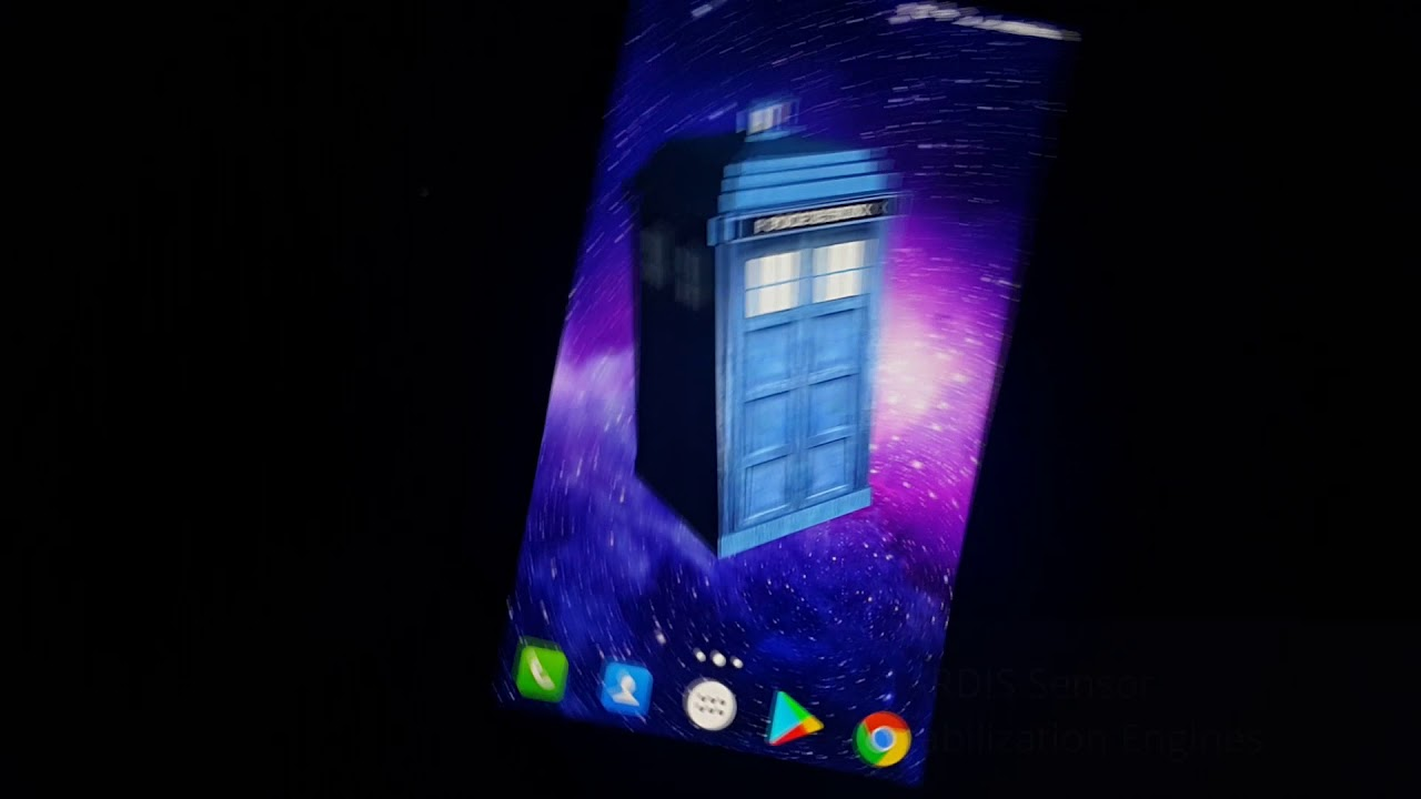 Tardis 3D Live Wallpaper Preview Video