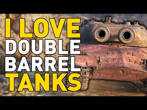 Why I Love Double Barrel Tanks in World of Tanks!