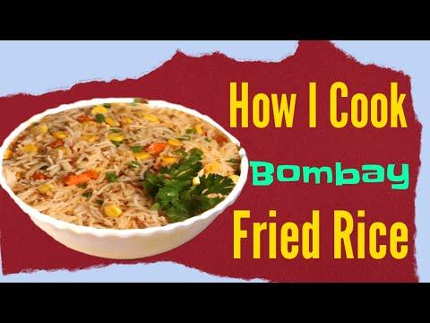 Veg Fried Rice recipe   My fisrst Home Cooking recipe I shot