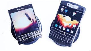 Blackberry Passport vs Unihertz Titan Keyboard Comparison