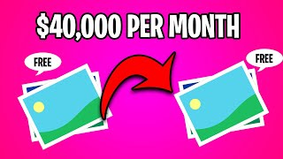 Earn $40,000 Per Month On Youtube From Copy & Paste Photos (Make Money Online)